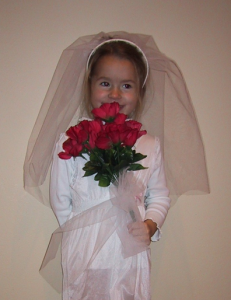 Homemade Costume Idea: Bride
