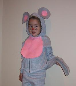 Homemade Costume Idea: Mouse