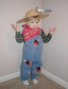 Homemade Costume Idea: Scarecrow