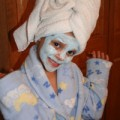 homemade costume ideas spa beauty