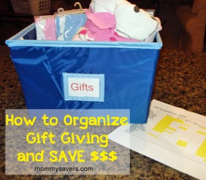 Organize Your Gift Giving with a Spreadsheet