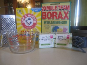 Frugal DIY:  Homemade Laundry Detergent
