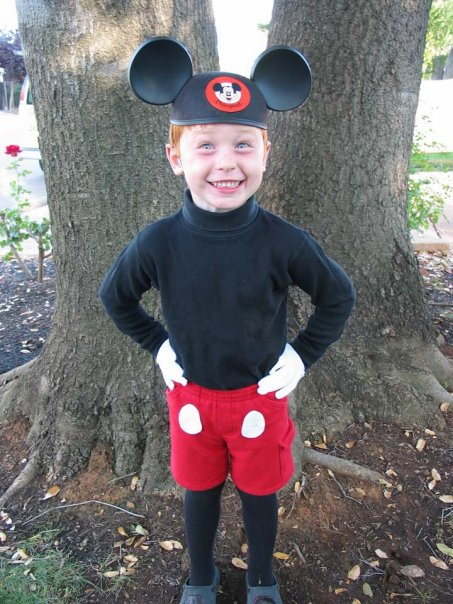 Homemade Costume Idea Mickey Mouse  sc 1 st  Mommysavers & Homemade Costume Idea: Mickey Mouse - Mommysavers | Mommysavers