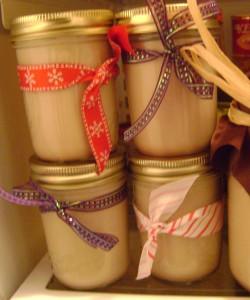 homemade bailey's irish cream gift idea
