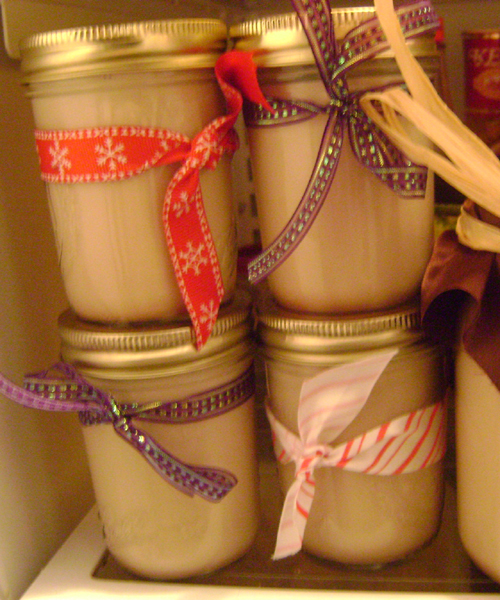 homemade bailey's irish cream gift idea