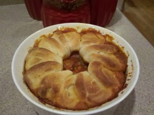 Looking for Comfort Food?  Try This Yummy Meatball Casserole!