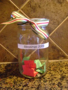 Create a Holiday Blessings Jar