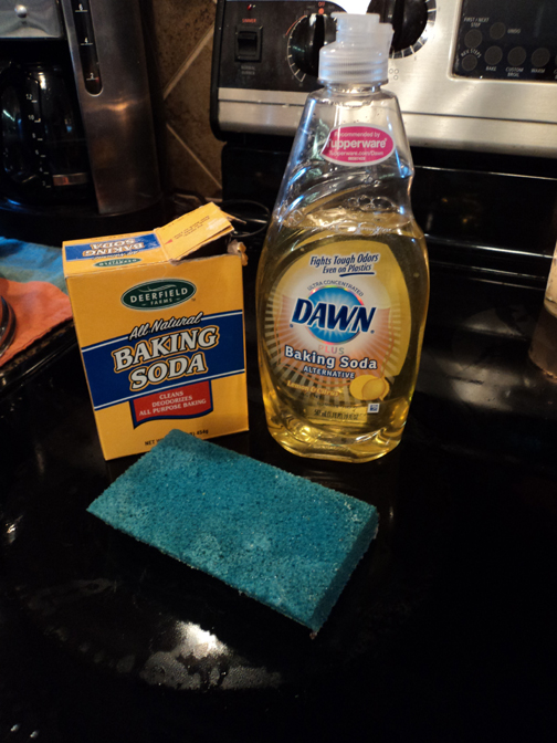 homemade glass stove top surface cleaner mommysavers
