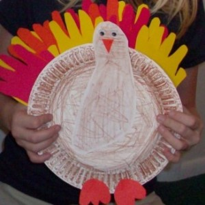 thanksgiving handprint footprint turkey craft