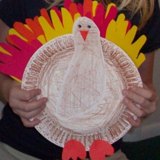 thanksgiving handprint footprint turkey craft