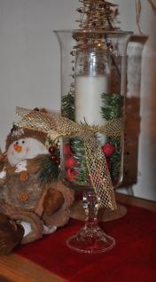 Dollar Store Craft Gift Idea Glass Hurricane Candle Holder Mommysavers