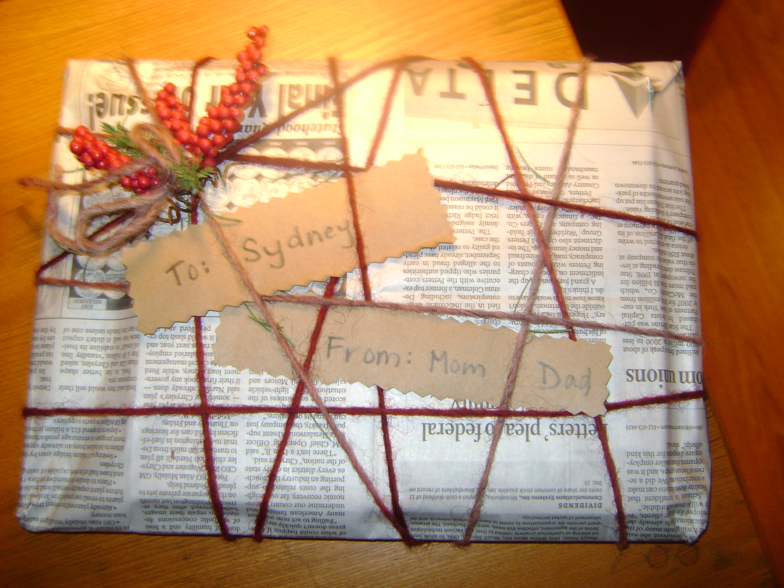 Frugal Ideas for Creative Homemade Gift Wrapping, Packaging and ...