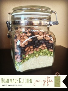 Homemade Kitchen Jar Gifts