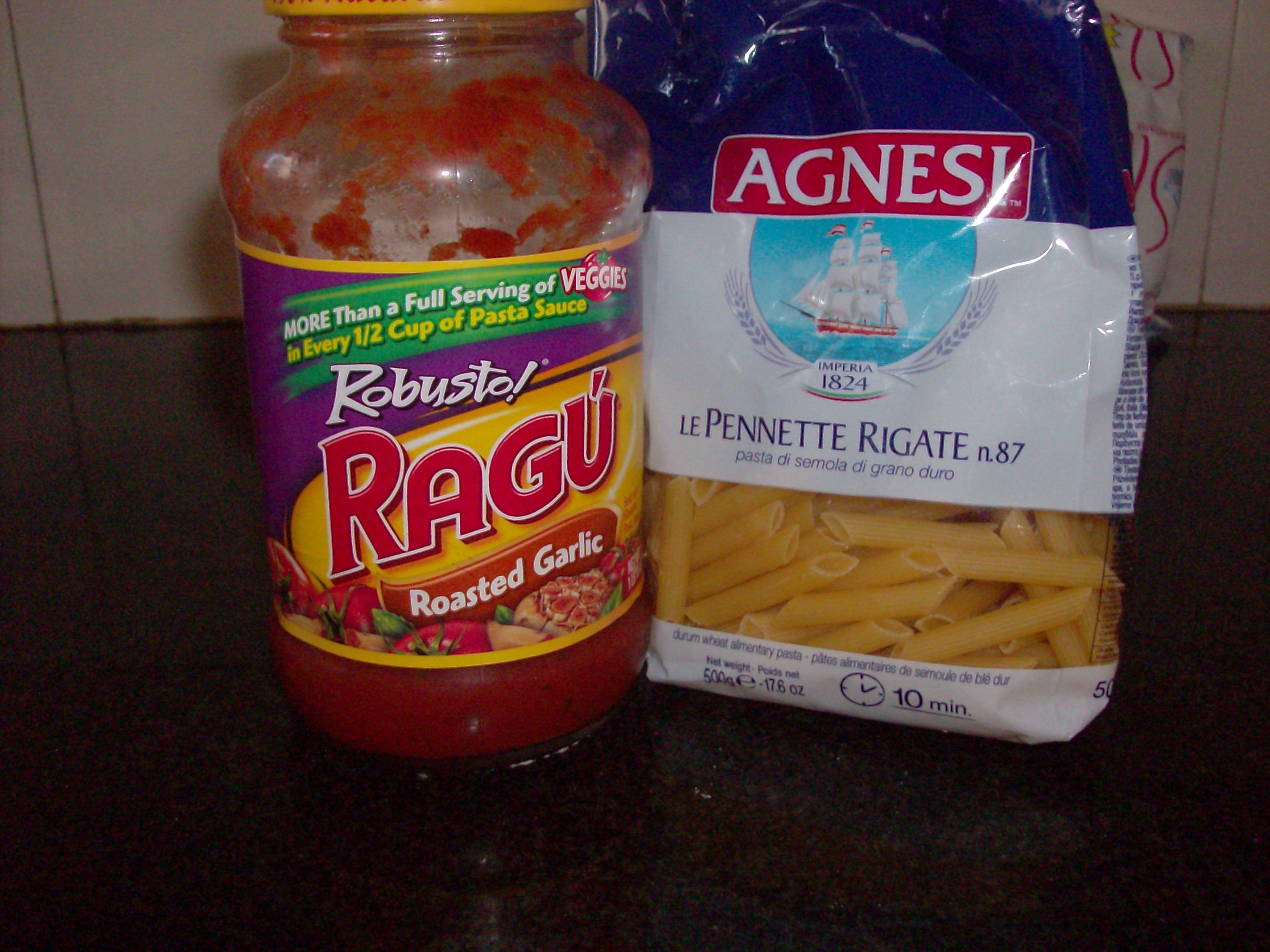 Ragu and Pasta India