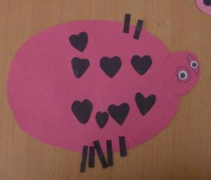 Kids Craft: Love Bug Valentine's Day Cards