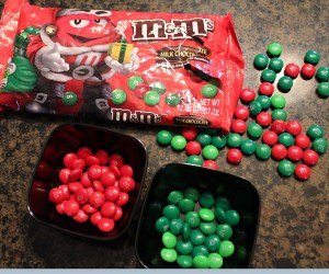 Christmas Leftovers: M&Ms Tip
