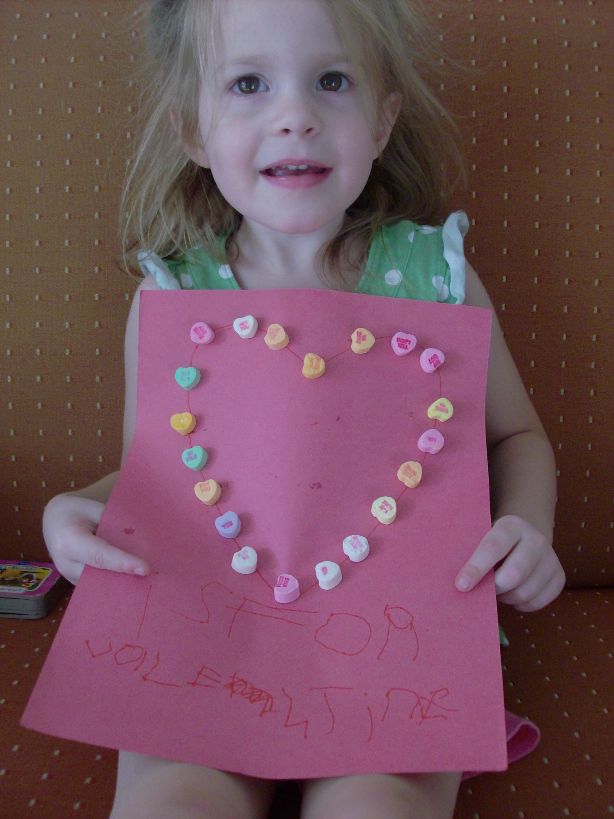 V is for valentine preschool activity and valentine s day for Valentines crafts for kindergarten