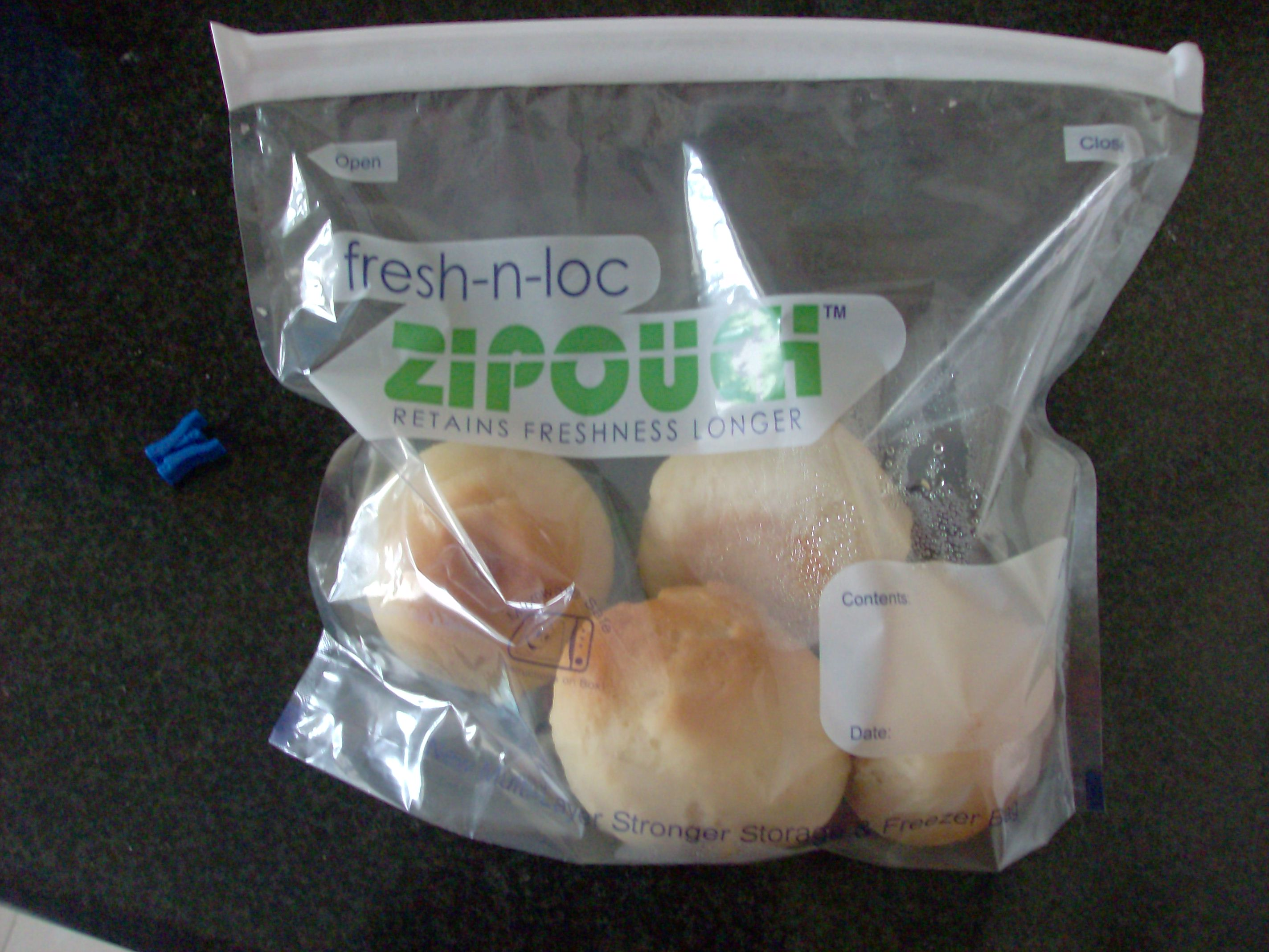 Frugal Foreigner India ziploc bags