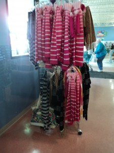 Target Scarves at Goodwill