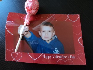 Lollipop Valentines:  Easy Valentine's Day Classroom Craft