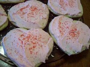Valentine's Day Treat: Heart-Shaped Sugar Cookies