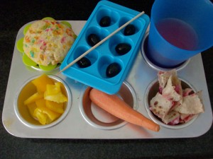 Muffin Tin Monday: Birthday Muffin Tin Meal