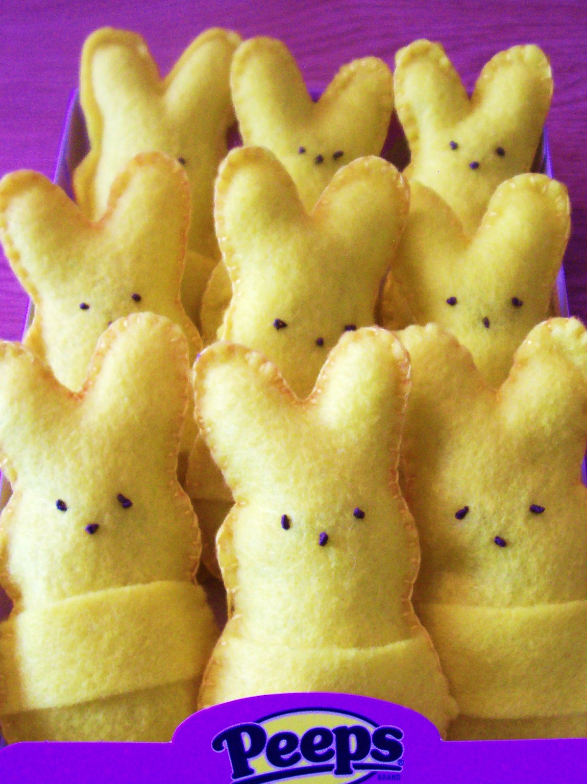 Its a peep a palooza easter fun with marshmallow peeps mommysavers easter gift idea felt peeps bunnies negle Gallery