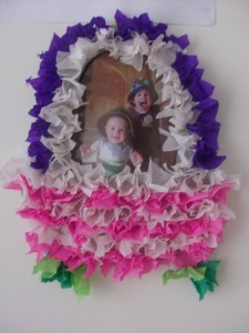Photo Craft: Puffy Tissue Paper Easter Basket