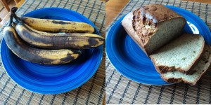 Bananas Gone Bad?  Bake Banana Bread!