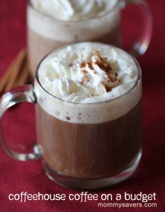 coffeehouse coffee on a budget