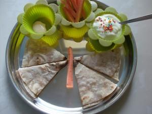 Muffin Tin Monday: Butterflies & Flowers