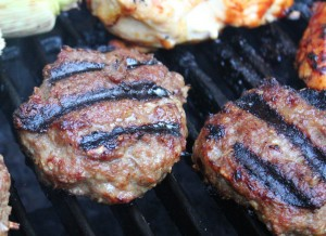Easy and Frugal Ground Turkey Burgers