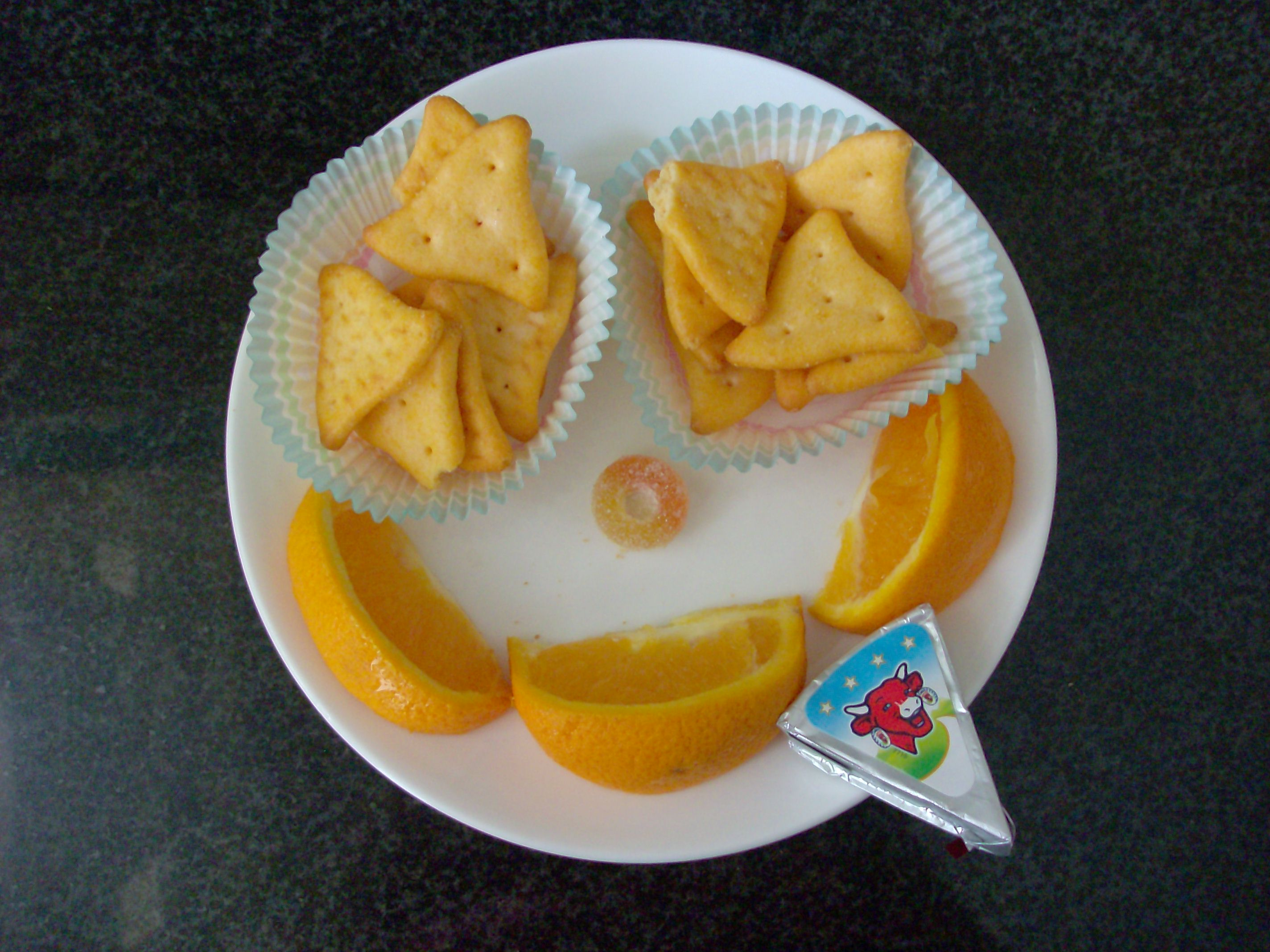 Muffin Tin Monday: Smiley Snack