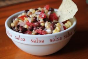 Cowboy Caviar:  Black Bean and Corn Salsa Recipe