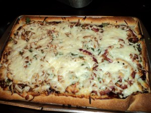 BBQ Chicken Pizza: Gourmet Taste with a Walmart Price Tag