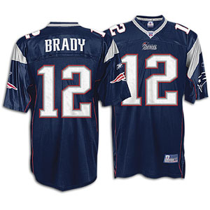 tom brady signed reebok jersey