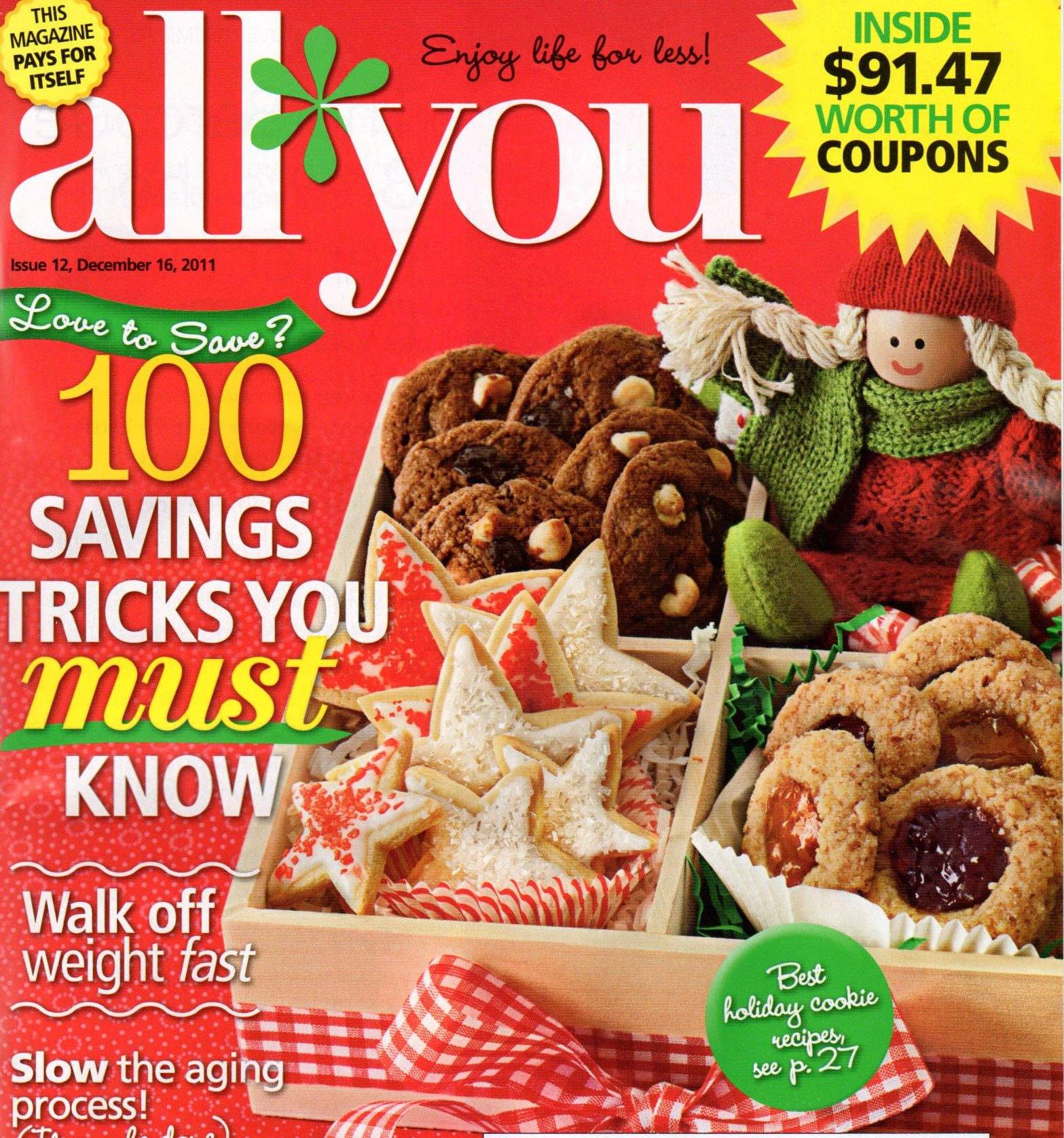 Mommysavers in December All You Magazine:  Stick to Your Holiday Budget