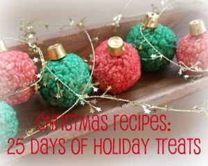 25 days of holiday christmas treats
