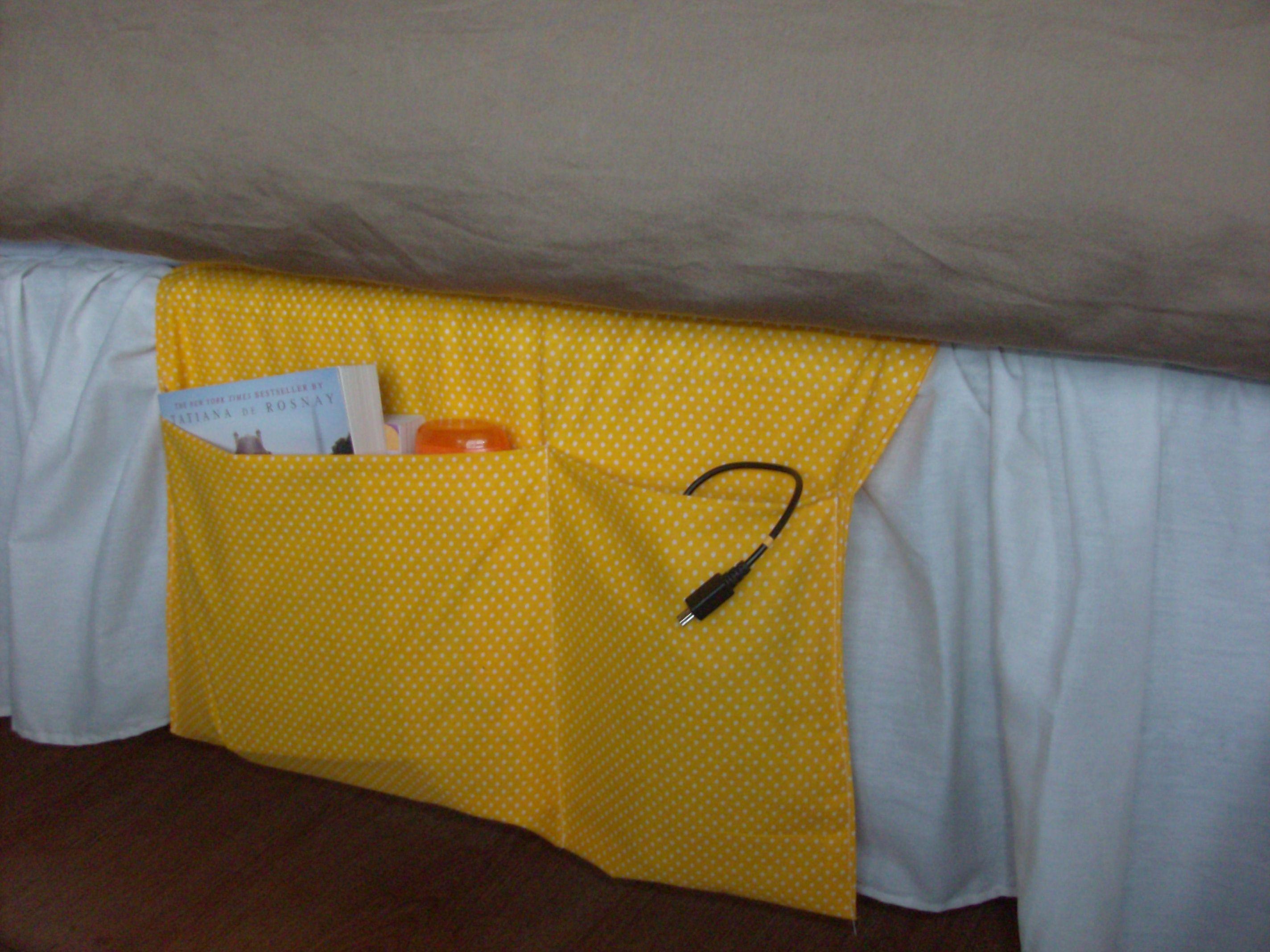 Homemade Gift bedside organizer 5