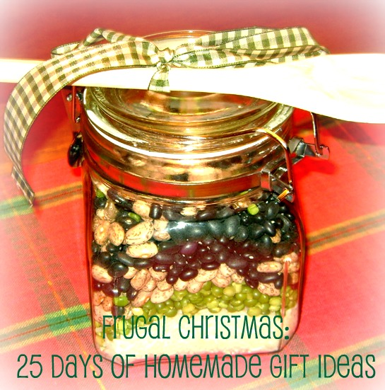 Frugal Christmas: 25 Days of Homemade Gift Ideas | Mommysavers