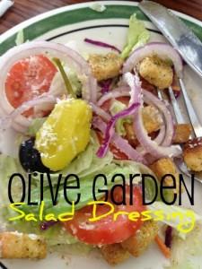 Olive Garden Salad Dressing Copycat Recipe