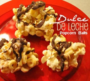 Easy Cereal Treat: Dulce de Leche Popcorn Balls