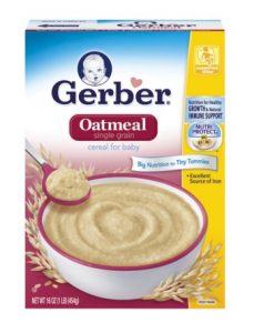 Gerber Oatmeal:  Save 50% Plus FREE Shipping