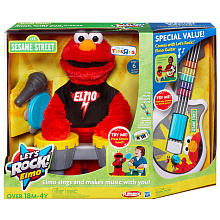 Sesame Street Let's Rock! Elmo with Bonus Guitar Just $39.99 (Reg. $80)