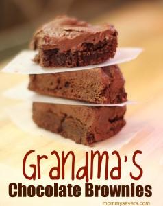 Grandma's Yummy Chocolate Brownies