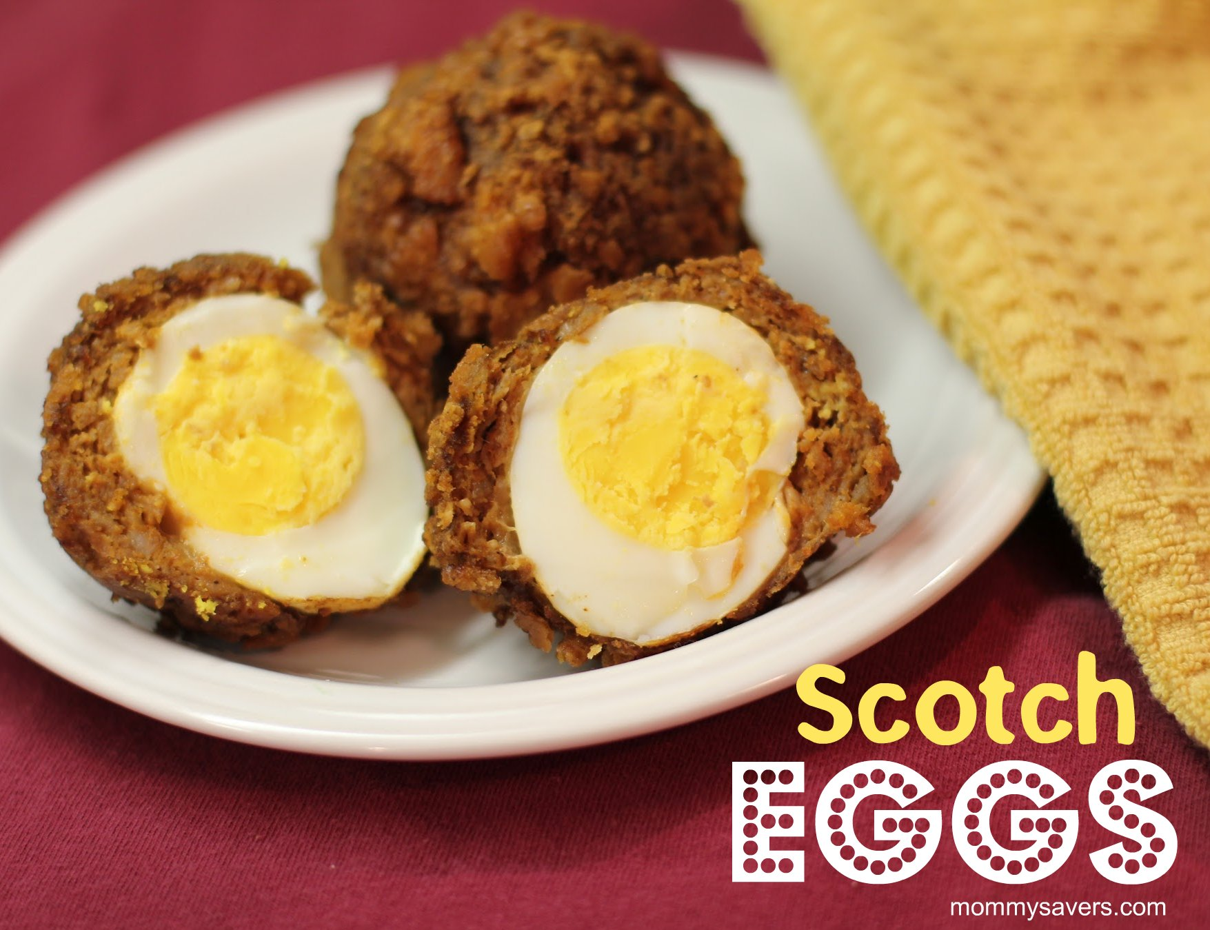 ... scotch eggs are a fun twist on eggs and sausage a hard boiled egg