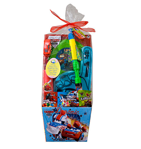 Disney Pixar's Cars the Movie Easter Basket