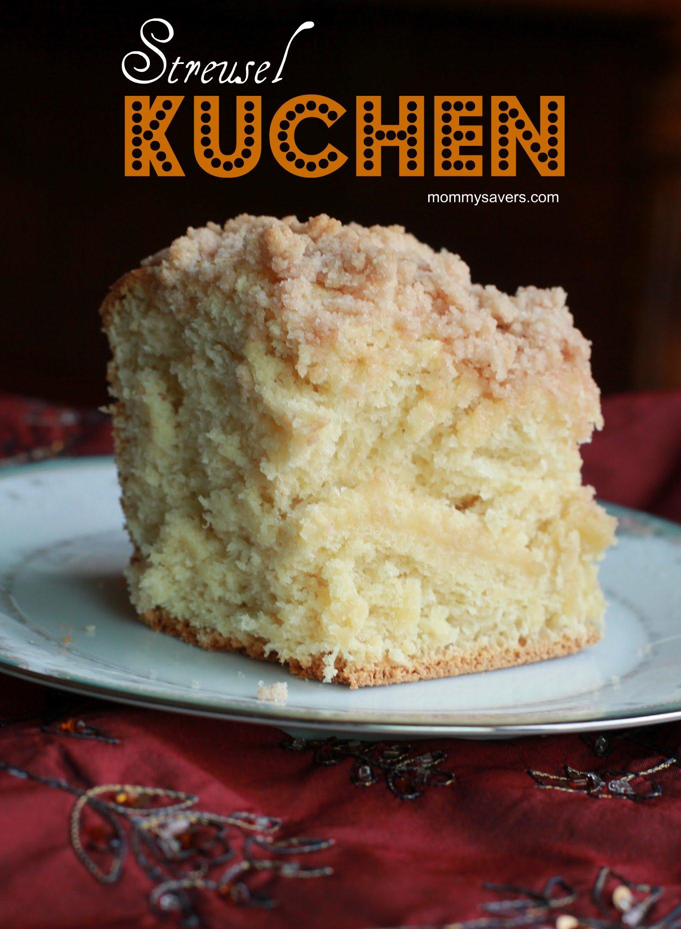 German Streusel Kuchen Recipe Frugal Cooking