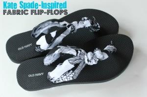 DIY Fabric Flip-Flops Project
