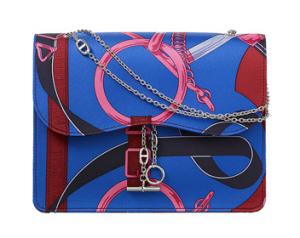 Hermes Ladies Evening Bag in Printed Silk Just $5,850.00